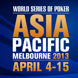 WSOP APAC: Das Main Event