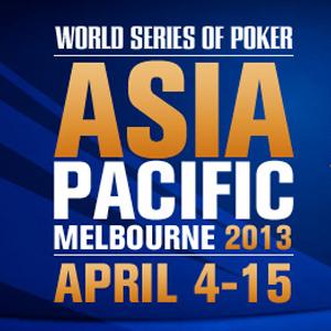WSOP APAC: Das Main Event