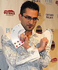Früher Zauberkünstler, Heute Pokerpro: Antonio Esfandiari