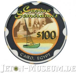 Chip aus dem Casino Semiramis / Ägypten