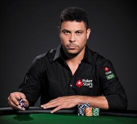Ex-Fußballprofi Ronaldo Unterschreibt Bei PokerStars