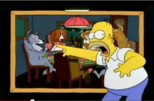 Simpsons Dogs