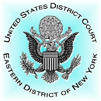 Siegel des Federal District Court in Brooklyn